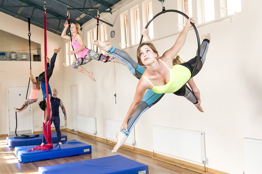 A beginners guide to Aerial Hoop
