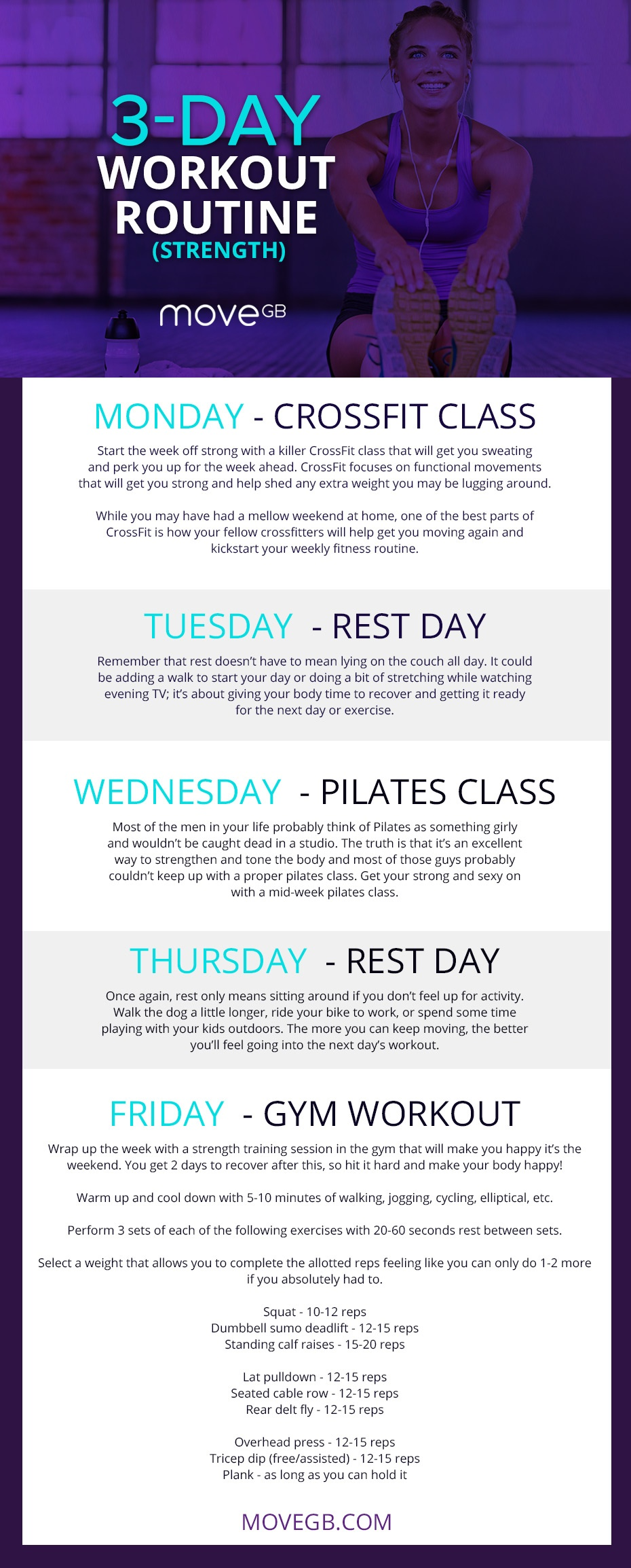 Interesting Day Workout Routine For Women With Daily Gym Chart Men