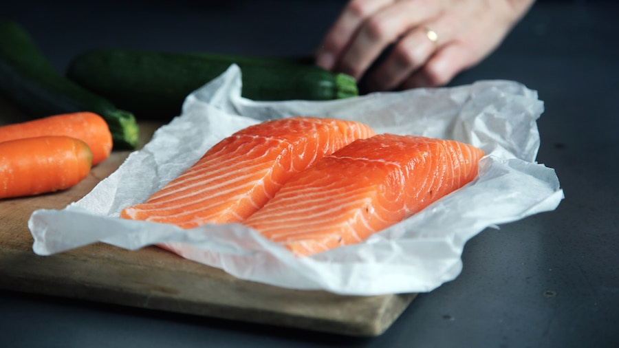 Natural choices for healthy protein - Salmon