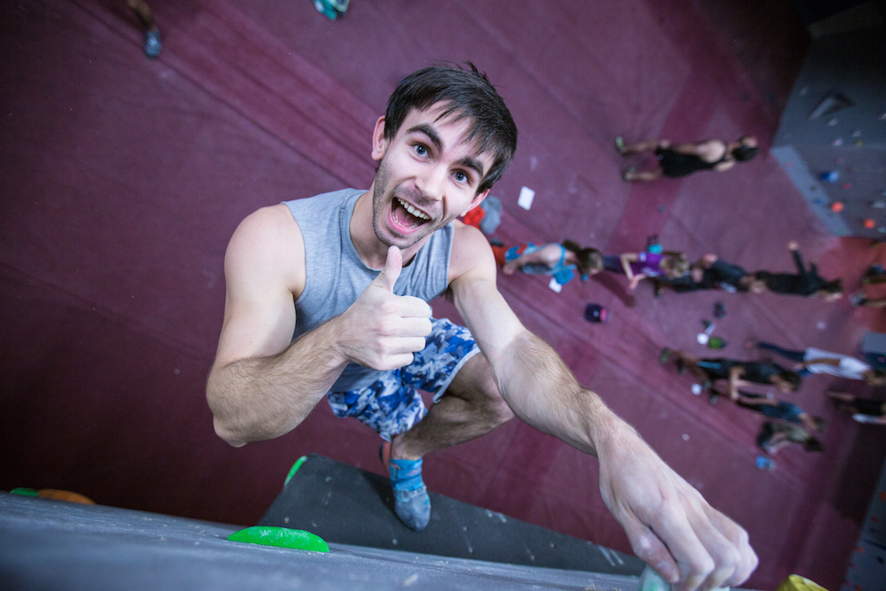A beginner's guide to indoor climbing and bouldering