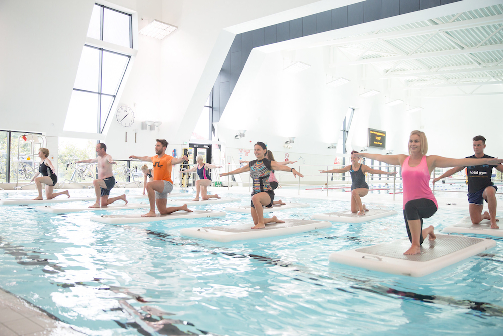 What to expect at a FloatFit class