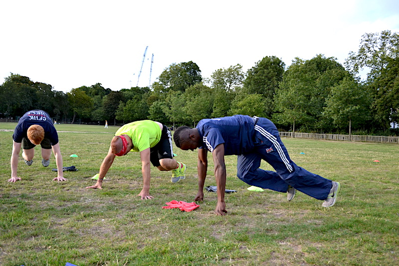 Tell us about some workouts members can expect at a GB Active training session