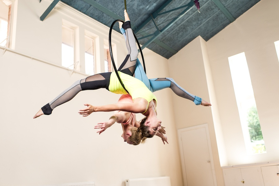 A beginners guide to Aerial Hoop, with Flying Fantastic