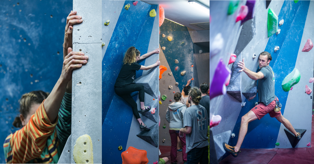 Beginner's guide to indoor climbing and bouldering, Rock Over Manchester MOveGB