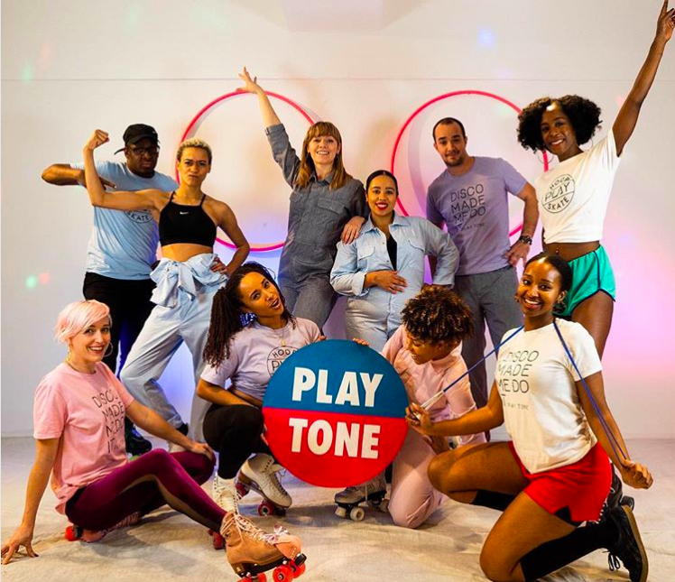 PlayTone - learn how to roller skate