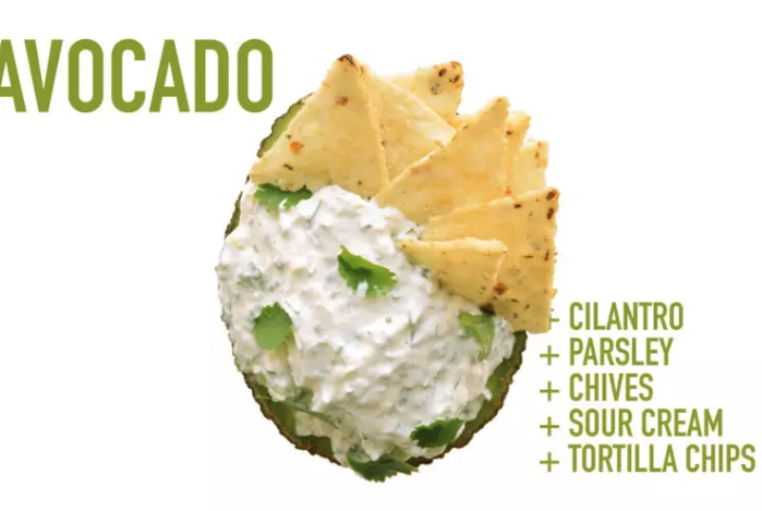 sour cream and tortilla chips