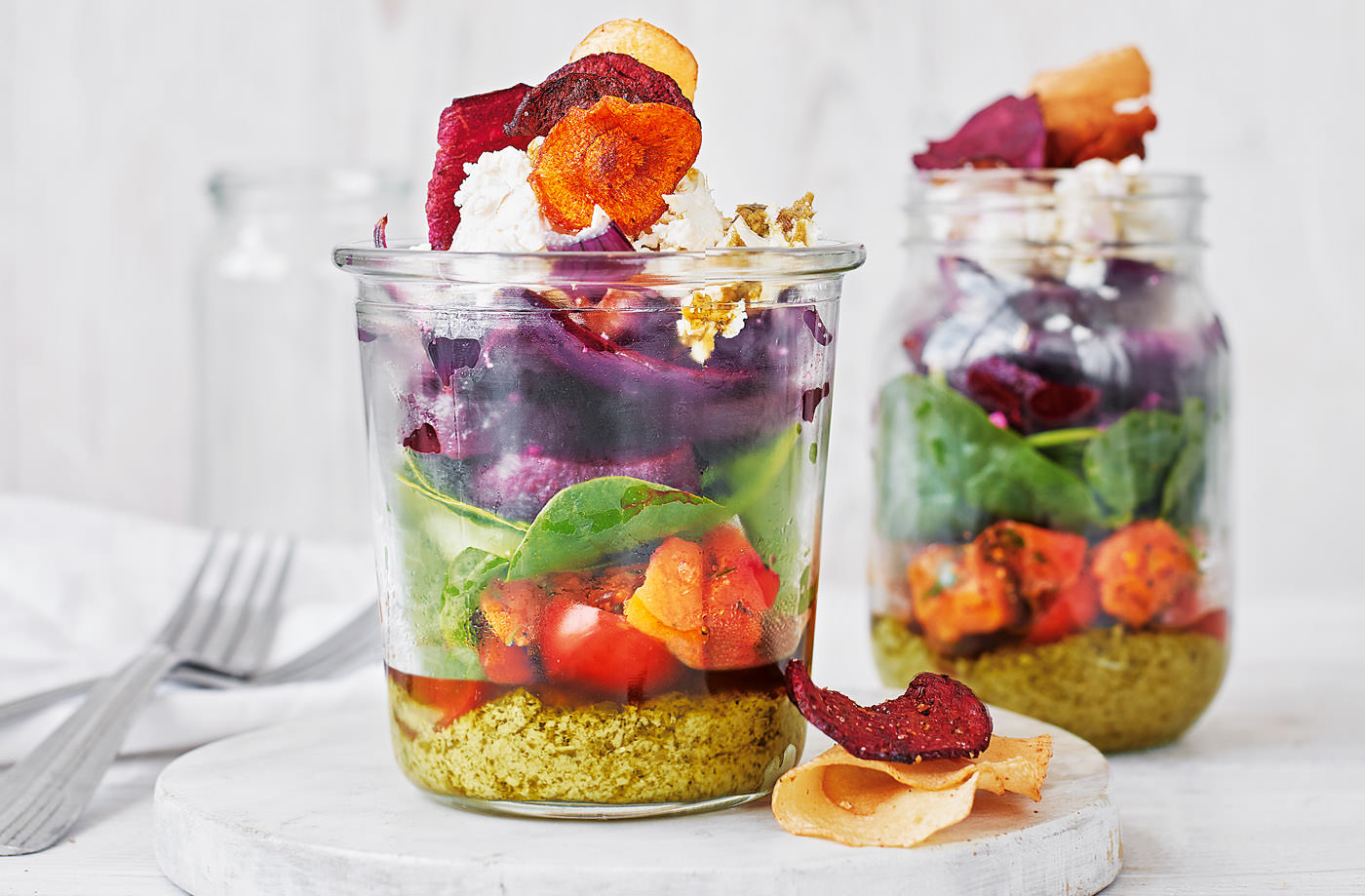 PEsto Salad Pot - TESCO