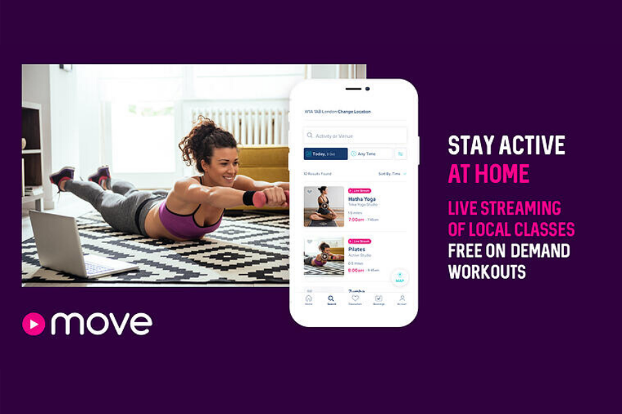 Move At Home: Live-streaming and on-demand MoveGB home workouts