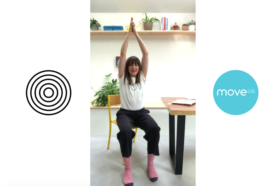 Yoga at your desk, with Pip Roberts from NOW Studio
