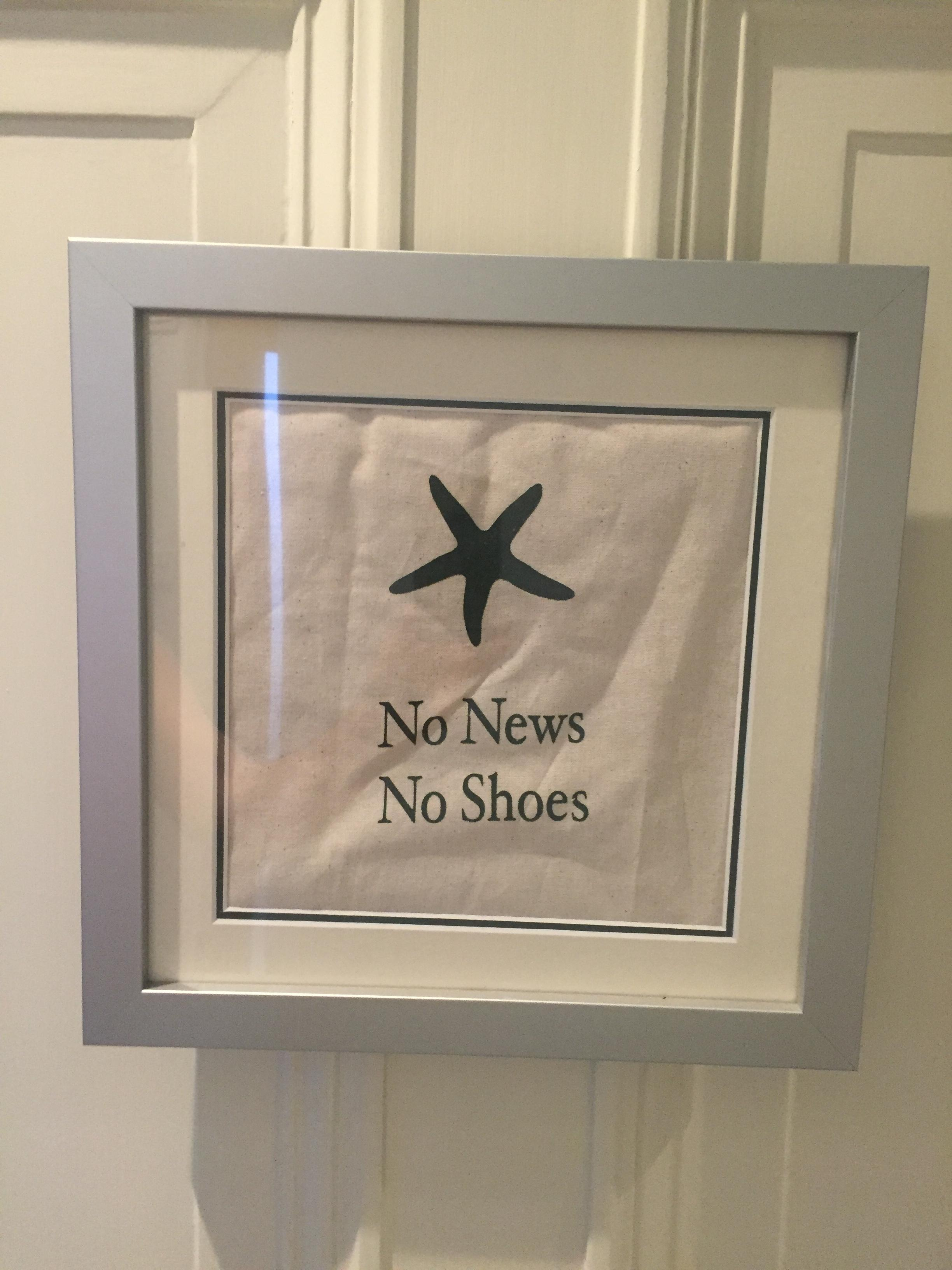no-shoes-no-news
